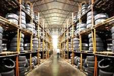 Работа на складе шин в Германии