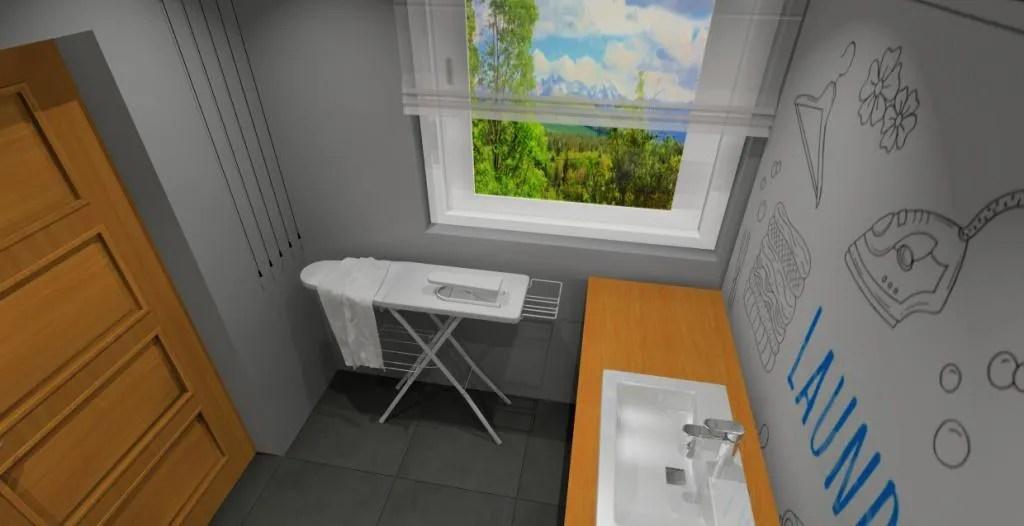 Pralnia w domu: sugestie, zdjęcia, urządzanie wnętrz on Pralnia W Domu Inspiracje  id=74464