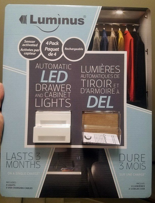 luminus sensor activated led lights for