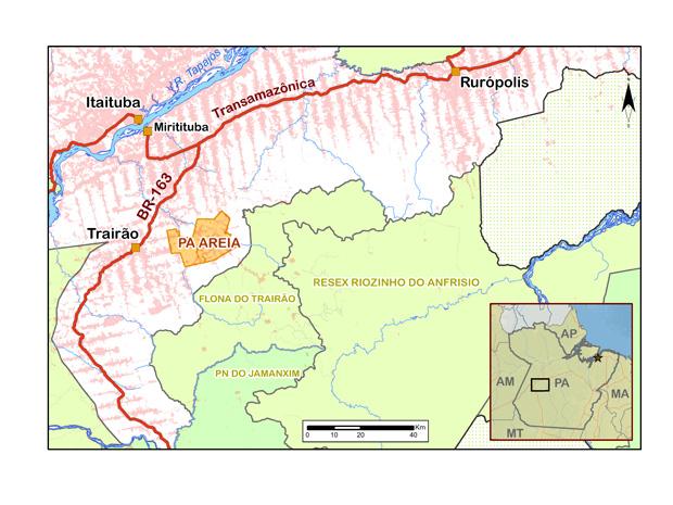 Geografia de sangue: nas unidades de conservação, grileiros trocaram o gado pelo roubo de madeira  (Foto: Reprodução)