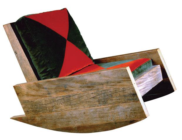 Cadeira de balanço Astúrias, 2002, de Carlos Motta (Foto: divulgação)