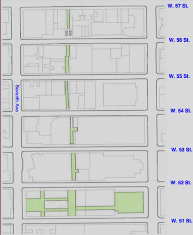rua_escondida_ny (Foto: divulgação / F-Pops)