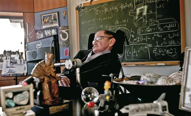 Stephen Hawking (Foto: Sarah Lee/AP)