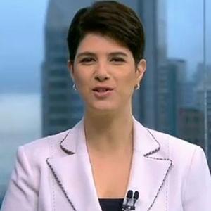 Mariana Godoy, apresentadora do SPTV