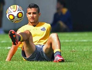 Maikon Leite afirma que quer a Libertadores antes de deixar o Santos