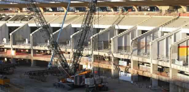 Após cinco dias de impasse, obras na arena carioca retomam o ritmo normal