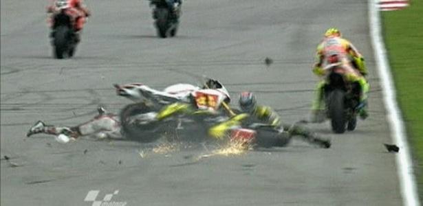 Simoncelli não resistiu aos ferimentos sofridos após grave acidente no GP da Malásia