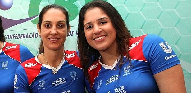 Fernanda Venturini (e) e Natalia: 19 anos separam as novas parceiras de Unilever