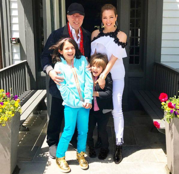 Thal237a revel243 foto junto a su hija y asombra por el