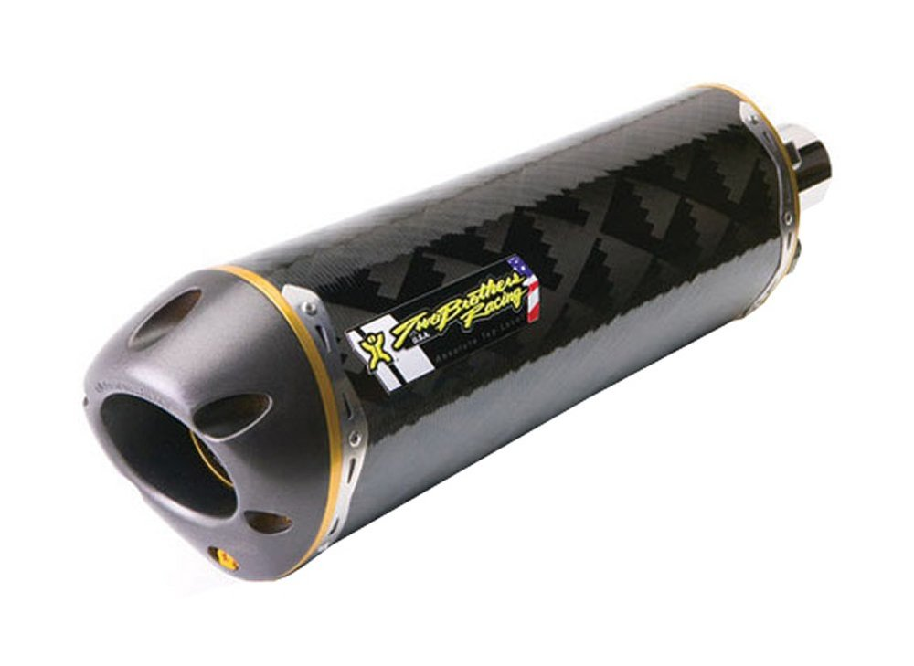 534 98 two brothers racing m 2 slip on muffler carbon 187399