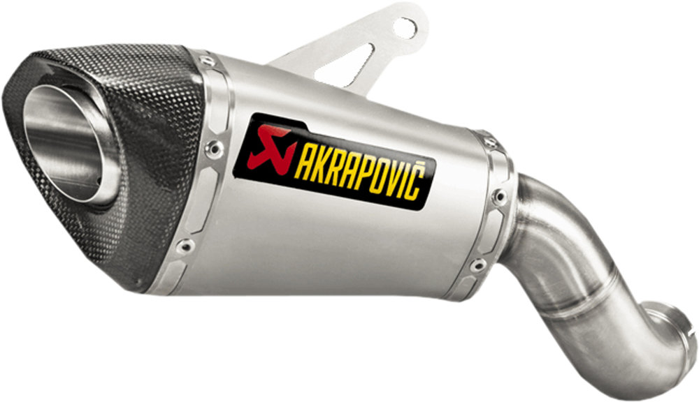 714 95 akrapovic slip on exhaust system for kawasaki 1055751