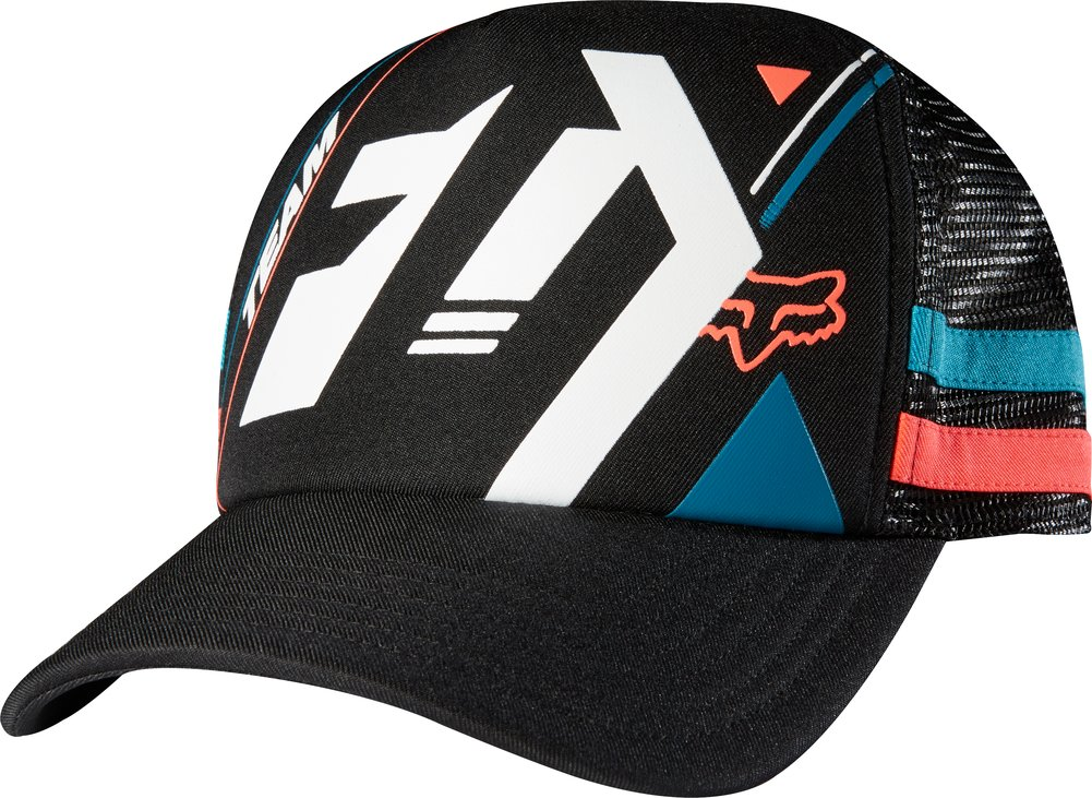 Fox Racing Womens Divizion Snapback Adjustable Trucker Hat ...