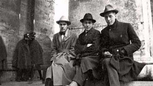 José Carlos Mariátegui en Italia, donde completó su formación intelectual
