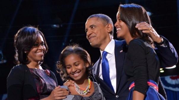 El mandatario dijo que sus hijas, al igual que su esposa Michelle, no están interesadas en incursionar en la política.