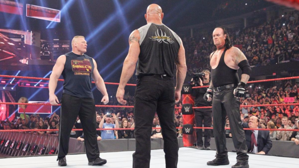 The Undertaker, Brock Lesnar y Goldberg se verán las caras en Royal Rumble 2017.