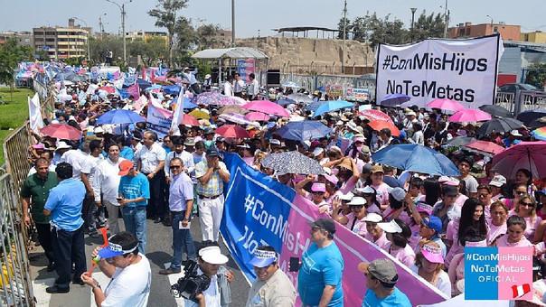 Diversos colectivos organizan una marcha nacional para este 4 de marzo en respaldo a la campaña