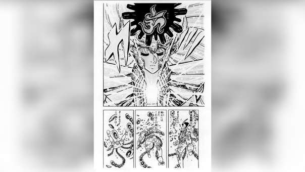El primer encuentro de Ikki y Shaka no fue en la casa de Virgo, fue en la isla de la reina muerte.