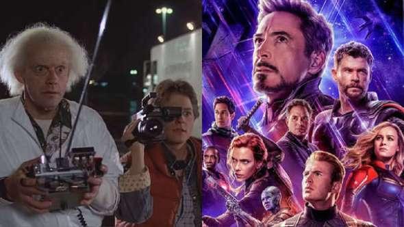 Avengers Endgame viaje en el tiempo