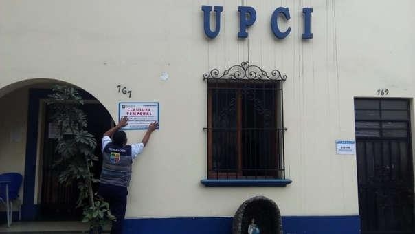 Personal del municipio de Jesús María fiscalizó este martes los locales de la UPCI.