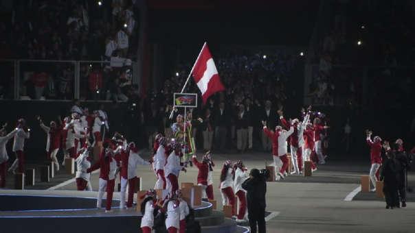 Stefano Peschiera encabezó la bandera de Perú en lo Juegos Panamericanos Lima  2019