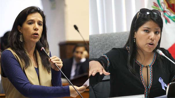 Nuevo Perú   Marisa Glave e Indira Huilca renuncian a la bancada tras alianza con Vladimir Cerrón   RPP Noticias