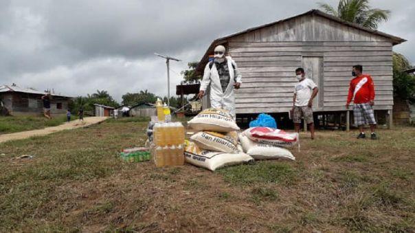 En algunas comunidades los contagios se iniciaron durante la entrega de alimentos, porque no se realizaba la desinfección adecuada.