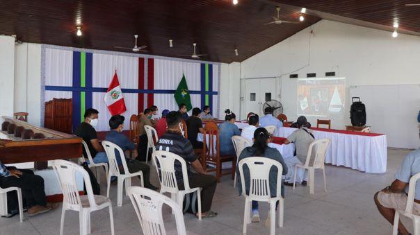 Diversas organizaciones indígenas se reunieron, vía Zoom con el Ministro de Salud Victor Zamora, el Ministro de Cultura Alejandro Neyra y la congresista Luz Cayguaray.