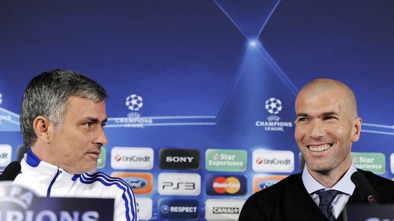Jose Mourinho brought Zinedine Zidane back to Real Madrid in 2010