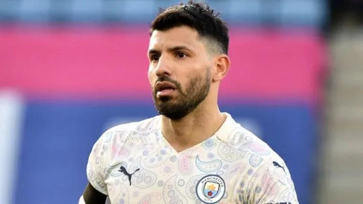 Manchester City striker Sergio Aguero (PA)