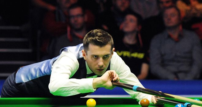 Mark Selby start his UK Championship vs Michael White at 7pm on Saturday.