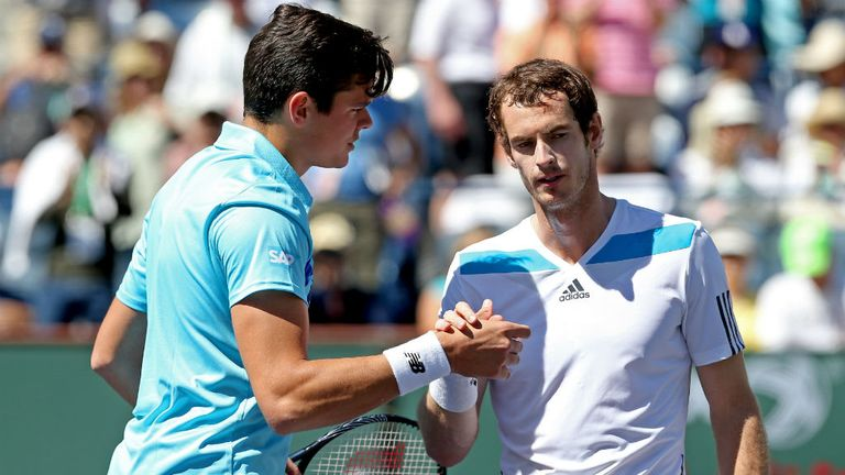 Andy Murray takes on Milos Raonic in Sunday's Wimbledon ...