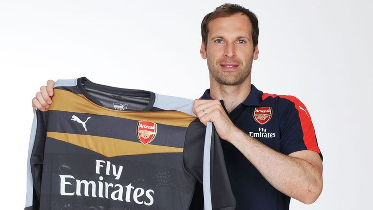 Image result for petr cech signs for arsenal