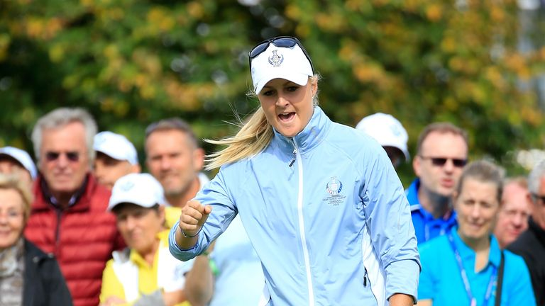 Anna Nordqvist has appeared in four previous Solheim Cups