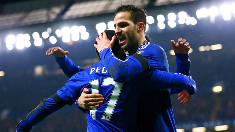 Cesc Fabregas and Pedro are in Spain's squad