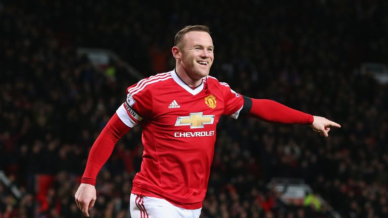 Wayne Rooney is United's leading Premier League scorer at Old Trafford
