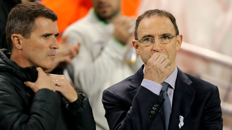 Martin O'Neill included Robbie Keane in his Ireland squad