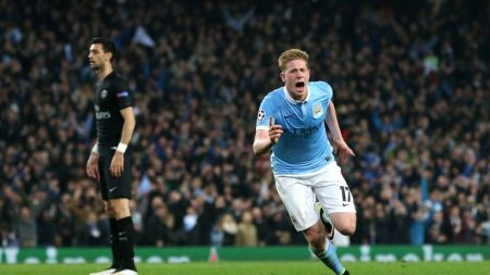 Man City 1-0 PSG (Agg: 3-2): Kevin De Bruyne Strike Gives City  Unprecedented Semi-final Spot | Football News | Sky Sports