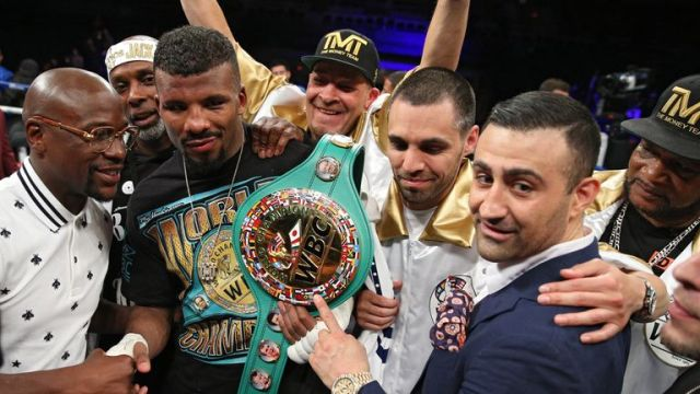 Badou Jack holds the WBC title but does not impress Carl