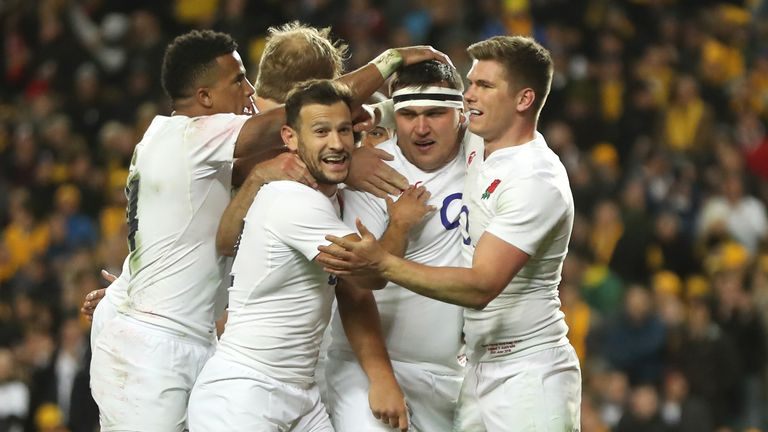 England face Argentina in their next autumn Test, live on Sky Sports 2HD