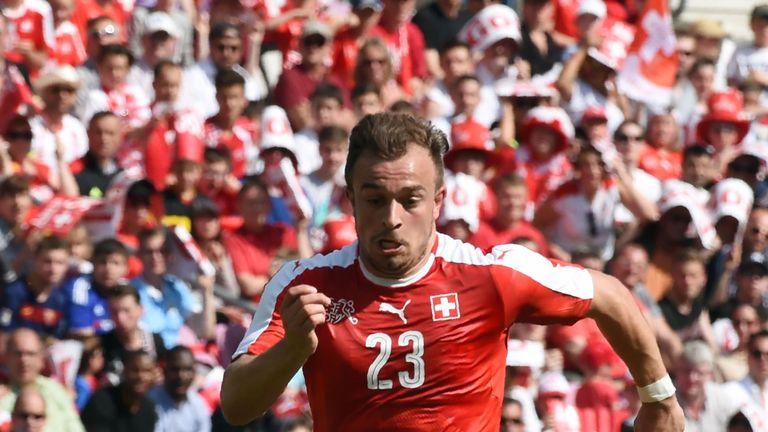 Switzerland will look to Stoke's Xherdan Shaqiri for inspiration