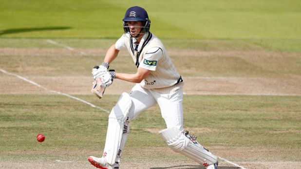 John Simpson's first Championship fifty for two years helped rescue Middlesex