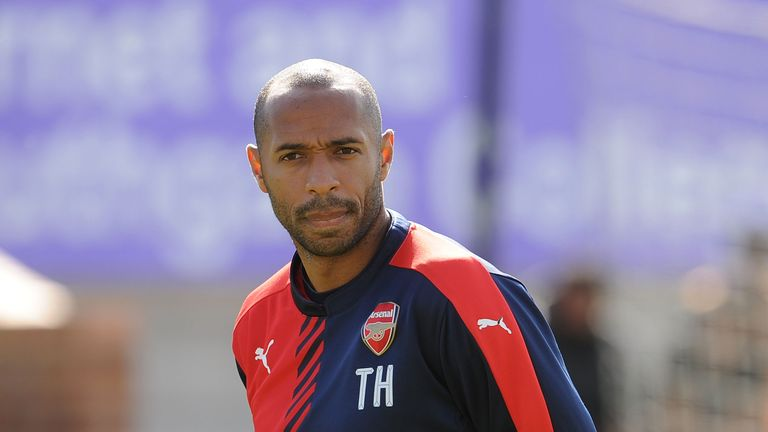 Sky Sports pundit Thierry Henry to become Belgium ...