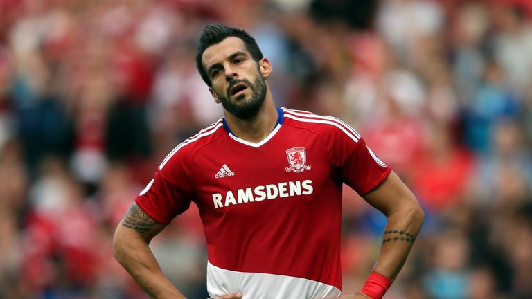 Alvaro Negredo has not scored since the opening game of the season
