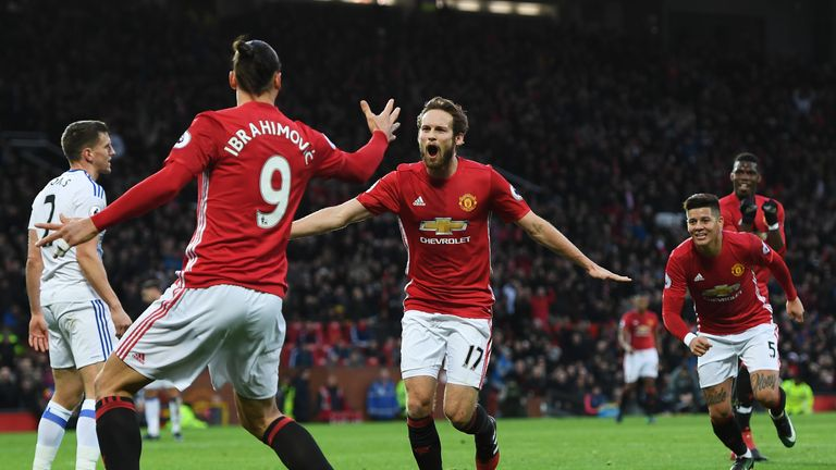 Image result for Daley Blind and Zlatan Ibrahimovic