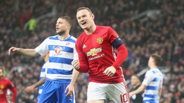 Wayne Rooney practiced visualisation at Manchester United