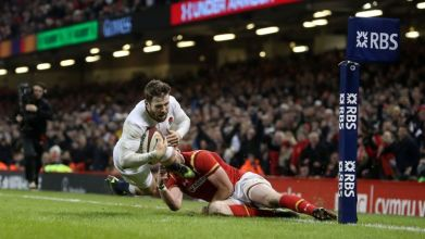 Elliot Daly won the game late for England
