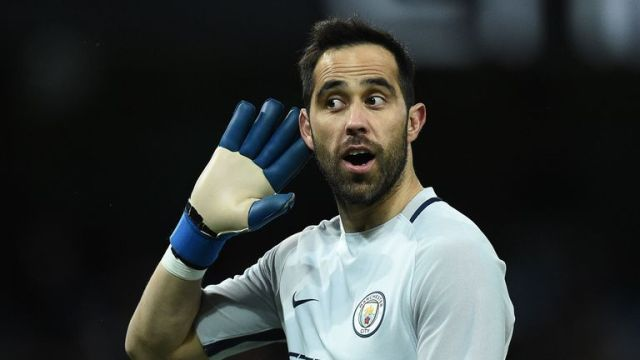 Claudio Bravo faces another battle for the gloves at City