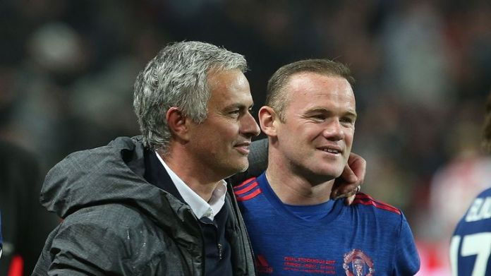 Jose Mourinho says he would be happy for Rooney to remain at Old Trafford