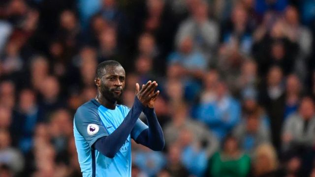 Yaya Toure's new contract is 'a big deal' for the club, according to Kompany