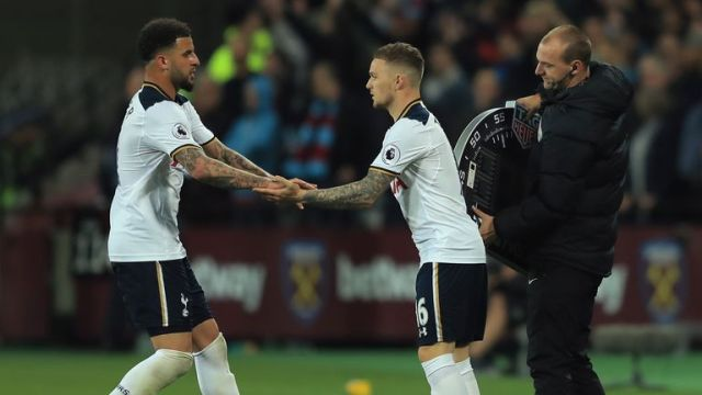 Kieran Trippier has emerged as Mauricio Pochettino's preferred right-back